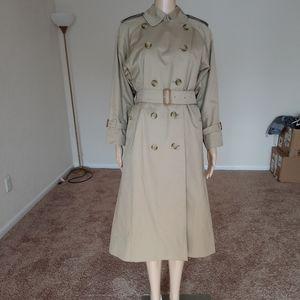 Vintage Burberry's Trench Coat Size 4 Petite